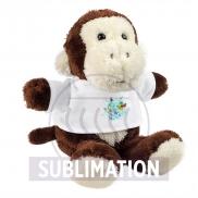 Elli, pluszowa małpka - brązowy