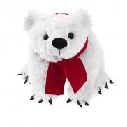 Stephen, pluszowy miś polarny - biały