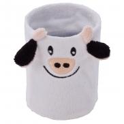 Fancy, pluszowa krowa, kubek, piórnik - czarno-biały