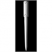 Nóż do listów - srebrny