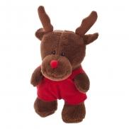 Shelton Red, pluszowy renifer - brązowy