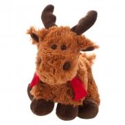Murray, pluszowy renifer - brązowy