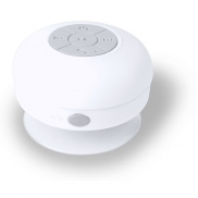 Głośnik bezprzewodowy 3W, stojak na telefon - biały