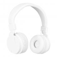 Bezprzewodowe słuchawki nauszne - biały
