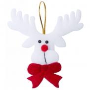 Zawieszki świąteczne - biało-czerwony