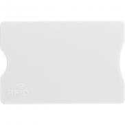 Etui na kartę kredytową, ochrona RFID - biały