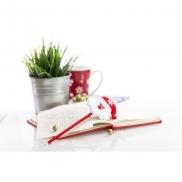 Długopis, świąteczny wzór - czerwony