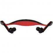 Bezprzewodowe słuchawki douszne - czerwony