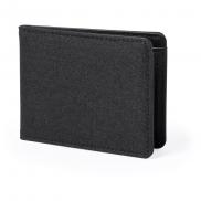 Portfel, ochrona RFID - czarny
