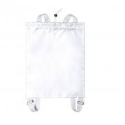 Worek ze sznurkiem, plecak - biały