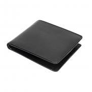 Skórzany portfel Mauro Conti, ochrona RFID - czarny