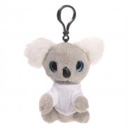 Kevin, pluszowy miś koala, zawieszka - szary