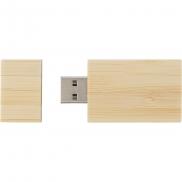 Bambusowa pamięć USB 32 GB - beżowy