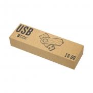Pamięć USB 'twist' 16GB ze słomy pszenicznej