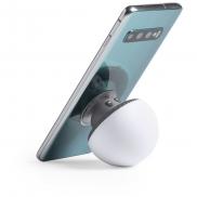 Głośnik bezprzewodowy 3W 'grzybek', stojak na telefon - biały