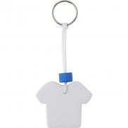 Brelok do kluczy 'koszulka' - biały