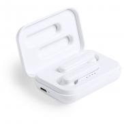 Bezprzewodowe słuchawki douszne - biały