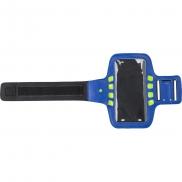 Opaska na ramię, etui na telefon ze światłem LED - niebieski