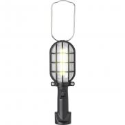 Lampka warsztatowa LED - czarny