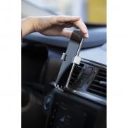 Samochodowy uchwyt do telefonu - czarny