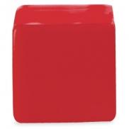 Antystres 'kostka' - czerwony