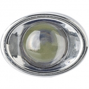 Kieszonkowa latarka LED, brelok - granatowy