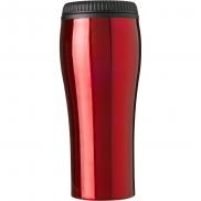 Kubek podróżny 450 ml - czerwony