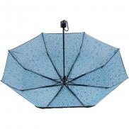 Parasol manualny, składany - błękitny