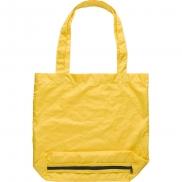 Parasol składany, torba na zakupy - żółty