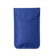 Uniwersalne etui, ochrona RFID - niebieski