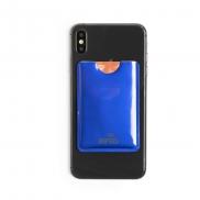 Etui na kartę kredytową, ochrona RFID - niebieski