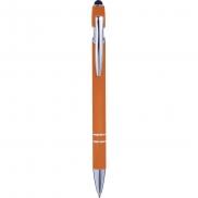 Długopis, touch pen - pomarańczowy
