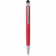 Długopis, touch pen - czerwony