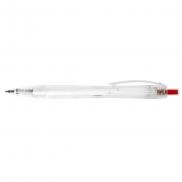 Długopis rPET - czerwony
