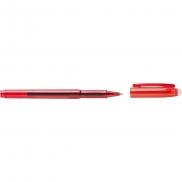 Notatnik ok. B5 z długopisem - czerwony