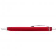 Organizer na biurko, długopis, stojak na telefon - czerwony