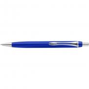 Organizer na biurko, długopis, stojak na telefon - niebieski