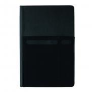 Notatnik A5 z organizerem - czarny