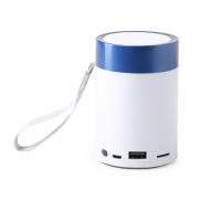 Głośnik bezprzewodowy 3W, radio - niebieski