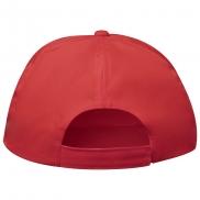 Czapka z daszkiem rPET - czerwony
