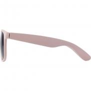 Bambusowe okulary przeciwsłoneczne - czerwony