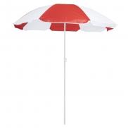 Parasol plażowy - czerwony