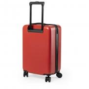 Walizka, torba na kółkach - czerwony