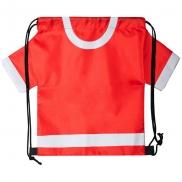 Worek ze sznurkiem 'koszulka kibica' - czerwony