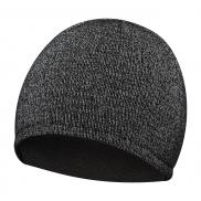 Sportowa czapka zimowa - czarny