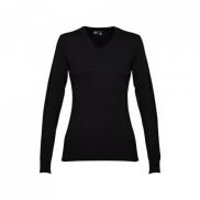 THC MILAN WOMEN. Damski sweter - Czarny - L