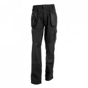 THC WARSAW. Męskie spodnie robocze - Czarny - L