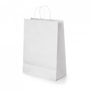 CABAZON. Torba z papieru kraftowego - Biały