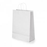 GRANT. Torba z papieru kraftowego - Biały