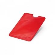 MEITNER. Etui na karty z systemem RFID - Czerwony